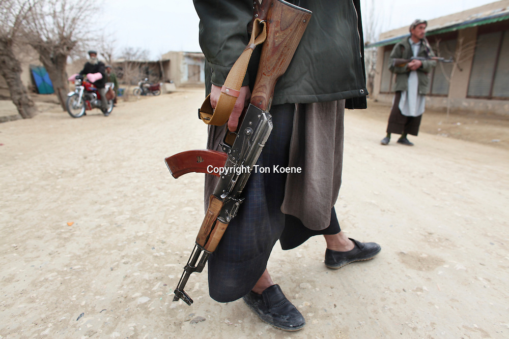 Warlord militia, Kunduz provincie, afghanistan.