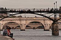 Bridges of Paris, France.