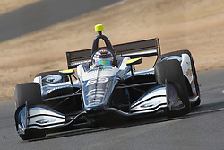 September 14, 2018 - Sonoma, CA, U.S. - SONOMA, CA - SEPTEMBER 14: Max Chilton driving at speed during the Verizon IndyCar Series practice for the Grand Prix of Sonoma on September 14, 2018, at Sonoma Raceway in Sonoma, CA. (Photo by Larry Placido/Icon Sportswire) (Credit Image: © Larry Placido/Icon SMI via ZUMA Press)