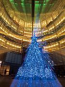 Bloomberg Tower's Christmas Tree, NYC