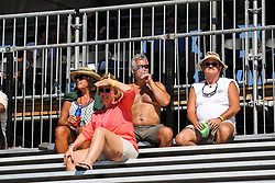 March 11, 2017 - St. Petersburg, Florida, U.S. - EVE EDELHEIT   |   Times.Fans enjoy the Florida sunshine on day two of the Firestone Grand Prix of St. Petersburg Saturday, March 11, 2017. (Credit Image: © Eve Edelheit/Tampa Bay Times via ZUMA Wire)