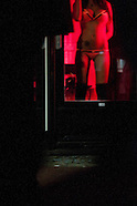 Amsterdam, the red light district. The wallen