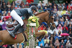 Staut Kevin, (FRA), Reveur de Hurtebise HDC<br /> Rolex Grand Prix, The Grand Prix of Aachen<br /> Weltfest des Pferdesports Aachen 2015<br /> © Hippo Foto - Dirk Caremans<br /> 31/05/15