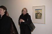Mariella Frostrop. Francesco Clemente private view. Anthony d'Offay . London. 1 March 2001. © Copyright Photograph by Dafydd Jones 66 Stockwell Park Rd. London SW9 0DA Tel 020 7733 0108 www.dafjones.com