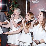 NLD/Amsterdam/20151126 - Perspresentatie The Christmas Show, Irene Moors en O'G3NE