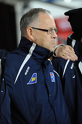 Iceland Manager, Lars Lagerback - Photo mandatory by-line: Dougie Allward/JMP - Tel: Mobile: 07966 386802 03/03/2014 -
