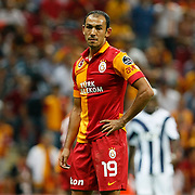 Galatasaray's umut bulut during their Turkish Super League soccer match Galatasaray between Kasimpasa at the TT Arena at Seyrantepe in Istanbul Turkey on Monday 20 August 2012. Photo by TURKPIX