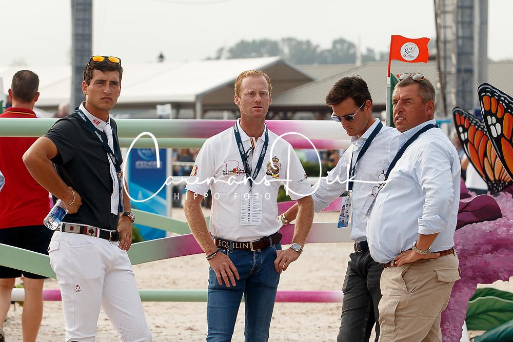 Philippaerts Nicola, Bruynseels Niels, Philippaerts Olivier, Philippaerts Ludo, <br /> World Equestrian Games - Tryon 2018<br /> © Hippo Foto - Sharon Vandeput<br /> 23/09/2018