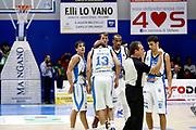 DESCRIZIONE : Capo dOrlando Lega A 2015-16 Betaland Orlandina Basket Vanoli Cremona<br /> GIOCATORE : Team<br /> CATEGORIA : Delusione<br /> SQUADRA : Betaland Orlandina Basket<br /> EVENTO : Campionato Lega A Beko 2015-2016 <br /> GARA : Betaland Orlandina Basket Vanoli Cremona<br /> DATA : 15/11/2015<br /> SPORT : Pallacanestro <br /> AUTORE : Agenzia Ciamillo-Castoria/G.Pappalardo<br /> Galleria : Lega Basket A Beko 2015-2016<br /> Fotonotizia : Capo dOrlando Lega A Beko 2015-16 Betaland Orlandina Basket Vanoli Cremona