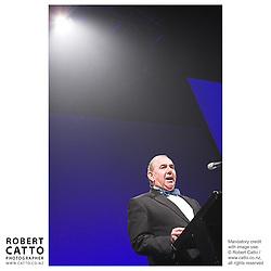 Ian Fraser at the Wellington Region Gold Awards 07 at TSB Arena, Wellington, New Zealand.
