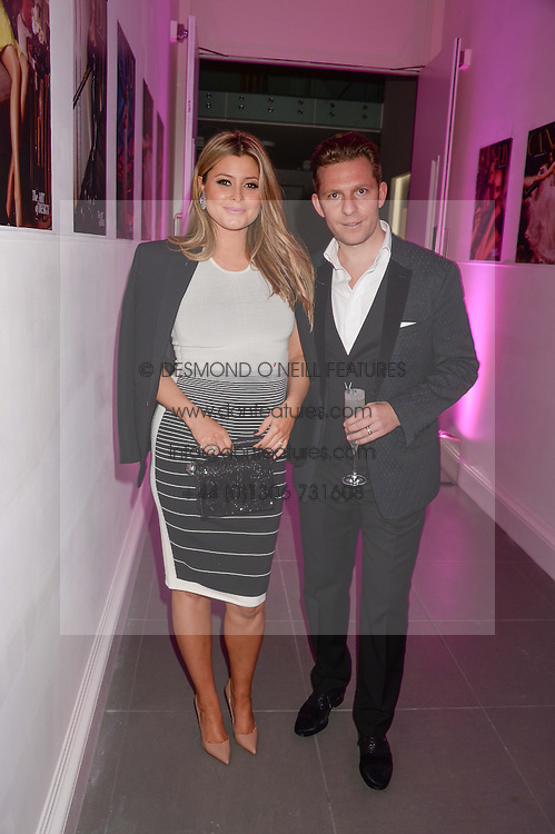 NICK CANDY & HOLLY CANDY at a party to launch the Autumn/Winter 2013 Candy Magazine held at The Saatchi Gallery, Duke of York's HQ, King's Road, London on 15th October 2013.