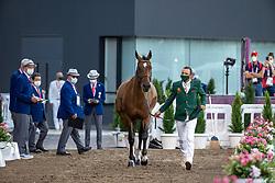 Al Ahrach Ali, MAR, Golden Lady, 362<br /> Olympic Games Tokyo 2021<br /> © Hippo Foto - Dirk Caremans<br /> 31/07/2021
