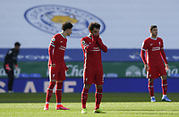 Football - 2020 / 2021 Premier League - Leicester City vs Liverpool - King Power Stadium<br /> <br /> Liverpool's Mohamed Salah prays before the game.<br /> <br /> COLORSPORT/ASHLEY WESTERN