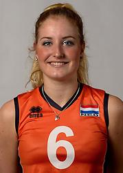 07-04-2014 NED: SELECTIE JONG ORANJE: ARNHEM<br /> Volleybalteam Jong Oranje / Marrit Jasper<br /> ©2014-FotoHoogendoorn.nl