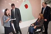 JAY JOPLING; TRACEY EMIN, - opening of the 2010 Frieze art fair. Regent's Park. London. 13 October 2010. -DO NOT ARCHIVE-© Copyright Photograph by Dafydd Jones. 248 Clapham Rd. London SW9 0PZ. Tel 0207 820 0771. www.dafjones.com.