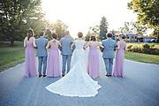 Beautiful Fall Bayshore Village Wedding