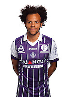 Martin Braithwaite of Toulouse during the photo shooting session of Toulouse FC for the new season 2016/2017 in Toulouse on September 16th 2016<br /> Photo : TFC / Icon Sport