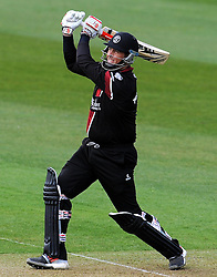 Somerset's Marcus Trescothick hits out - Photo mandatory by-line: Harry Trump/JMP - Mobile: 07966 386802 - 30/03/15 - SPORT - CRICKET - Pre Season Fixture - T20 - Somerset v Gloucestershire - The County Ground, Somerset, England.