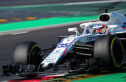 March 9, 2018 - Barcelona, Catalonia, Spain - the Williams of Sergey Sirotkin during the Formula 1 tests at the Barcelona-Catalunya Circuit, on 09th March 2018 in Barcelona, Spain. (Credit Image: © Joan Valls/NurPhoto via ZUMA Press)