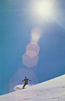 Skier at Squaw Valley