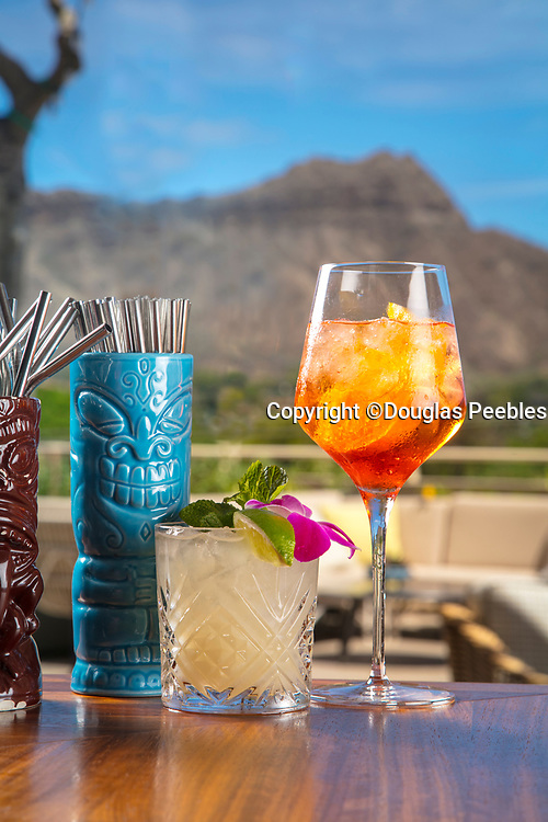 Tropical Drink, Mai Tai, Waikiki, Oahu, Hawaii