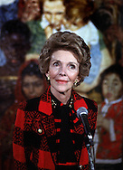 A 22.6 MG FILE FROM FILM OF:.  Nancy Reagan. photo by Dennis Brack