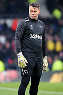 Derby County goalkeeper coach Shay Given during the The FA Cup 3rd round match between Derby County and Southampton at the Pride Park, Derby, England on 5 January 2019.