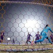 Osmanlispor's goalkeeper Ahmet Sahin (R) during their Turkish Super League soccer match Osmanlispor between Besiktas at the Osmanli Stadium in Ankara Turkey on Monday 21 December 2015. Photo by Kurtulus YILMAZ/TURKPIX