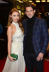 Una Healy and husband Ben Foden arriving at the UK Premiere of Mum's List, Curzon Cinema, London.<br /> Photo credit should read: Doug Peters/EMPICS Entertainment