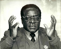 Mar. 03, 1980 - Zimbabwe in his hands Lord Soames, British Governor' today invited Robert Mugabe to form the first Government of Independent Zimbabwe, after his landslide victory. (Credit Image: © Keystone Press Agency/Keystone USA via ZUMAPRESS.com)