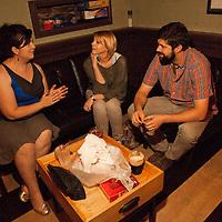 Sharon Spell, Matt & Claudina - Sara Benincasa's Going Away Party  - The Creek and The Cave - August 31, 2012