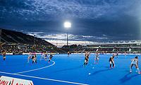 Londen - mooie luchten  boven het stadion tijdens de cross over wedstrijd Argentinie-Nieuw Zeeland (2-0)  bij het WK Hockey 2018 in Londen .  COPYRIGHT KOEN SUYK