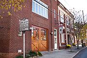 The Swannanoa Valley Museum in Black Mountain, North Carolina.