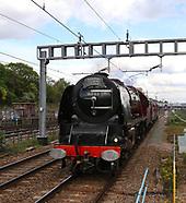 LMS Princess Coronation Class 6233 Duchess of Sutherland steam locomotive