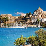 The old citadel [ ?????? ??????? ] Corfu City, Greek Ionian Islands