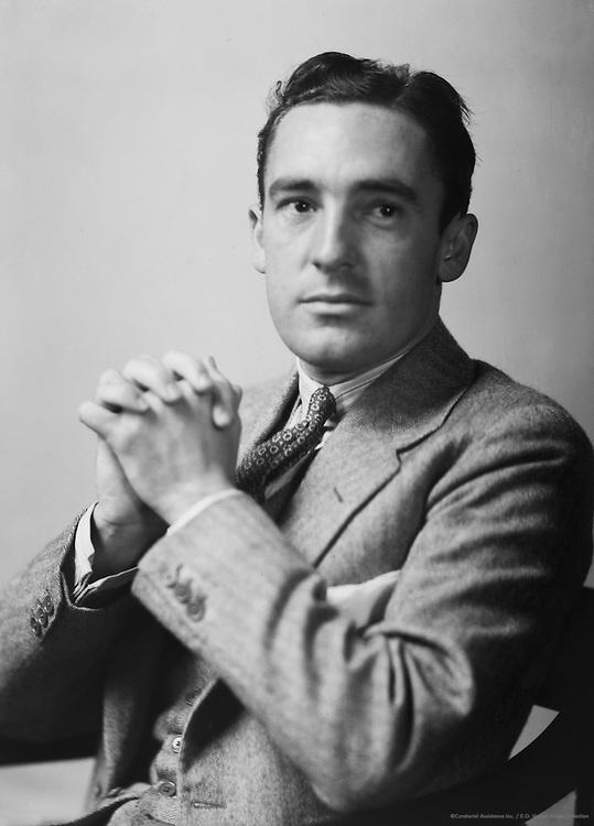 Clark Foreman, politician, USA, 1933