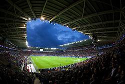 12-08-2014 WAL: UEFA Super Pokal, Real Madrid vs FC Sevilla, Cardiff<br /> Millenium Stadium in Cardiff<br /> <br /> ***NETHERLANDS ONLY***