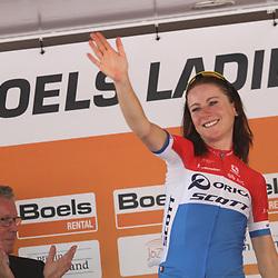 29-08-2017: Wielrennen: Boels Ladies Tour: Wageningen: Annemiek van Vleuten: Orica Scott