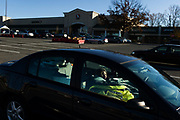 """FAIRFAX, VA – NOVEMBER, 2012: Susan Allen, 63, wakes up in her car outside the Safeway grocery store on the morning of November 18, 2012. """"I was like a lot of people living from paycheck to paycheck trying to pay the bills,"""" Allen said. """"As my savings gradually diminished and I couldn't pay rent, I had no alternative but to take to my car and to try to go from there.""""<br /> <br /> As the economic downturn trickles through the American job market, a rising number of middle class workers are finding themselves on the verge of homelessness. Susan Allen, 63, worked most of her adult life as a legal administrative assistant – a career that afforded her a comfortable, but modest lifestyle. Allen didn't save much of her income, and without family members to rely on after losing her job in the 2008 recession, Allen was forced to dip into what savings she had to stay afloat. Two years later, following a succession of layoffs from part-time jobs, Allen eventually succumbed to homelessness.<br /> <br /> Today, Susan Allen lives out of her 2006 Saturn Ion – her most valuable asset – while struggling to meet her basic needs. The perpetual search for employment has proven difficult for her and job-seekers like her across the country, who near retirement age find themselves thrust back into the most competitive job market the United States has seen in decades. Yet despite her challenges, Allen remains hopeful. As someone who used to think she was firmly planted in the middle class, she believes fear drives most people's attitudes toward the homeless. """"You think you're never going to be in that situation,"""" Allen said. """"But now when you see people who are down and out, maybe you realize you're only one or two paychecks away from that yourself. That's why so many people turn away from me,"""" Allen says. """"I'm a constant reminder of what might happen to them."""""""