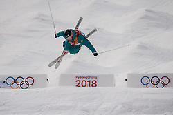 February 9, 2018 - Pyeongchang, South Korea - 180209 Dmitriy Reikherd of Kazakhstan compete in the Men's Moguls Qualification during the 2018 Winter Olympics on February 9, 2018 in Pyeongchang..Photo: Petter Arvidson / BILDBYRÃ…N / kod PA / 91956 (Credit Image: © Petter Arvidson/Bildbyran via ZUMA Press)