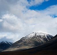Rugged mountain landscape, Lapland, Sweden
