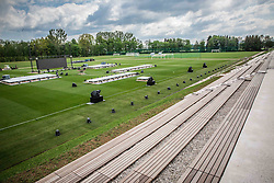 National football training centre of NZS (Football Association of Slovenia) day before it's opening, on May 5, 2016 in Brdo pri Kranju, Slovenia. Photo by Vid Ponikvar / Sportida