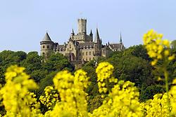 29.04.2011, Marienburg, GER, Hildesheim, Die Marienburg durch das gelbe Rapsfeld gesehen ( die Marienburg ist in Besitz von Ernst August von Hannover ).EXPA Pictures © 2011, PhotoCredit: EXPA/ nph/  Rust       ****** out of GER / SWE / CRO  / BEL ******