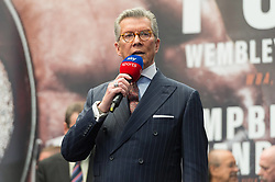 September 21, 2018 - London, London, United Kingdom - American ring announcer for boxing Michael Buffer (Credit Image: © Ray Tang/ZUMA Wire)