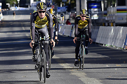 September 16, 2017 - Bergen, Norway - BERGEN, NORWAY - SEPTEMBER 16 : VAN HOECKE Gijs (BEL) Rider of Team Lotto NL - Jumbo pictured during the reconnaisance of the Team Time Trial 2017 World Road Championship cycling race on September 16, 2017 in Bergen, Norway, 16/09/2017 (Credit Image: © Panoramic via ZUMA Press)