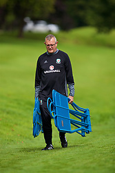 CARDIFF, WALES - Tuesday, August 29, 2017: Wales' Kevin McCusker during a training session at the Vale Resort ahead of the 2018 FIFA World Cup Qualifying Group D match against Austria. (Pic by David Rawcliffe/Propaganda)