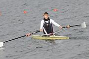 Eton, United Kingdom    GBR M1X, Bill LUCAS  after the men's B Final, single Sculls,  at the 2012 GB Rowing Trials, Dorney Lake. Near Windsor Berks Sunday  11/03/2012  [Mandatory Credit; Peter Spurrier/Intersport-images]