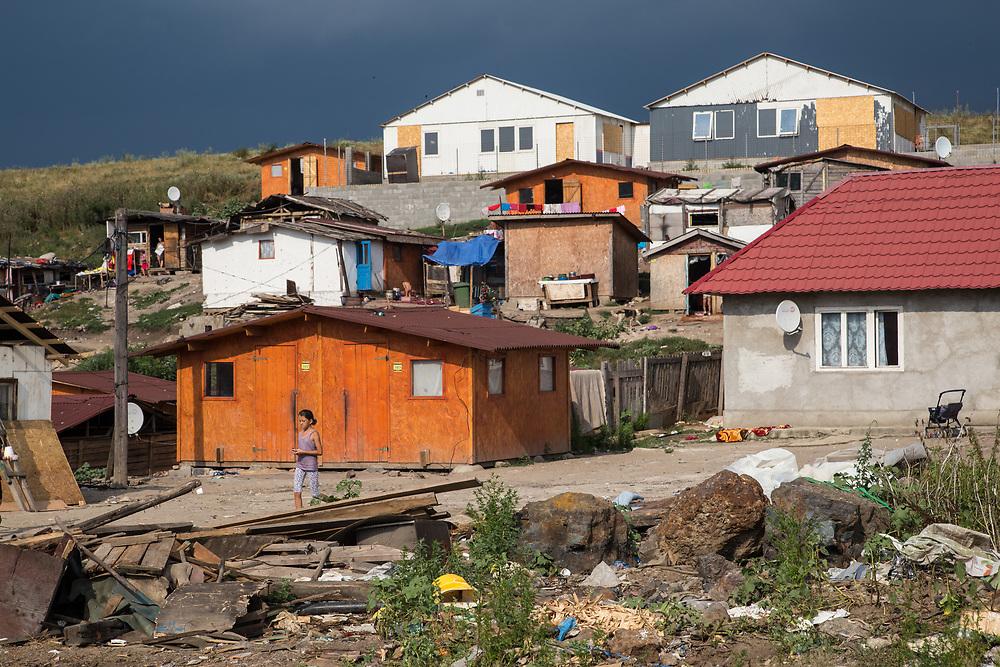 Dallas is the oldest Roma settlement in the Pata Rat area.  It was settled in the 1970's.                                                                                               © Daniel Barreto Mezzano