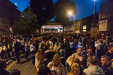 2017-06-16 Thousands attend vigil held near scene of Grenfell Fire Disaster
