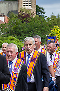 The annual Orange parades celebrate a centuries-old Protestant victory over Catholics.